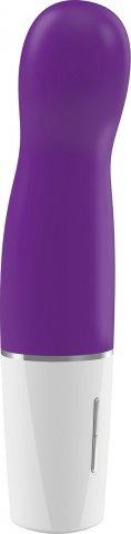 Мини вибратор фиолетовый