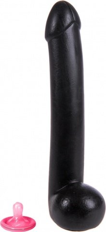 Keepburning shaft dildo black - mister b