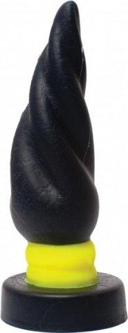 Keep Burning Анальный Стимулятор из силикона КВ13, цвет черно-желтый, фото 2