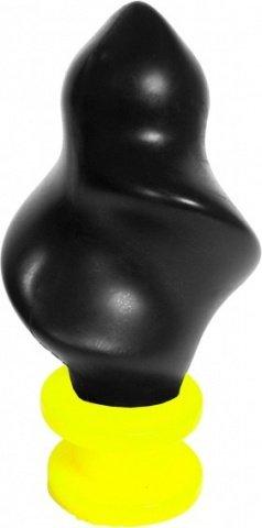 Винтовой анальный стимулятор из силикона Горящий факел, фото 2