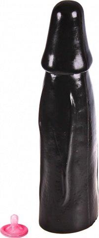 Фаллоимитатор dark crystal 01 wouter dildo, черный