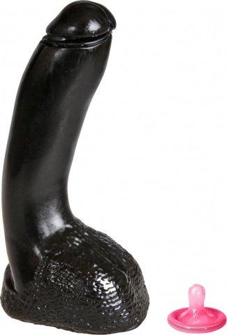 ������������� -Mister B Dark Crystal Allen Dildo Black Stuk