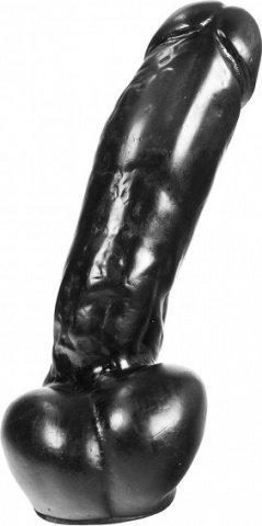 Фаллоимитатор -dark crystal black 19, фото 2