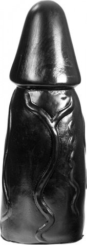 Фаллоимитатор - dark crystal black 32, фото 2