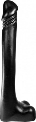 Фаллоимитатор dark crystal 14 eric dildo, черный, фото 2