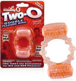 Двойное вибро-кольцо The Screaming O Two O, фото 6