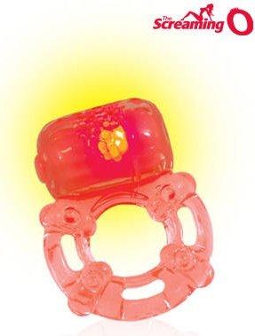Светящееся в темноте кольцо The Screaming Big O Glow, фото 4