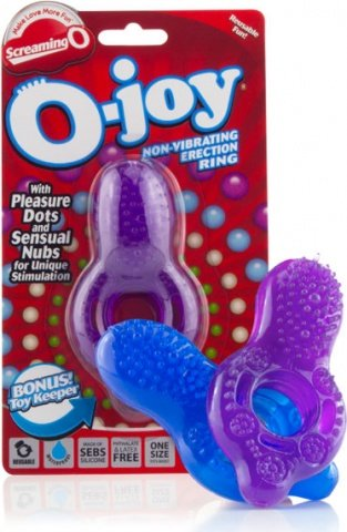 Кольцо на пенис со стимулятором клитора O Joy