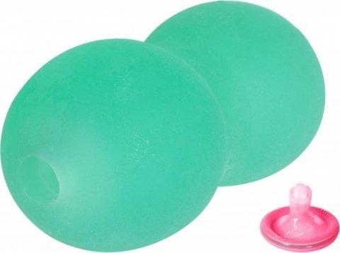 Мастурбатор ballers halo stroker со вкусом зеленого яблока, фото 2