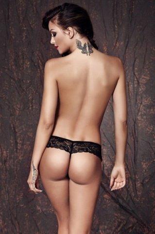 Трусики sabrisse, черные, фото 2