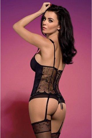 Корсет с цветочным мотивом rosana corset, фото 3
