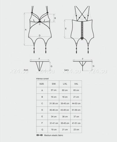 Идеальный корсет intensa corset, фото 5