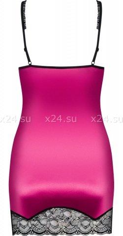 Сорочка цвета фуксии roseberry chemise, фото 4