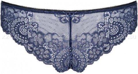 Синие кружевные трусики auroria panties, фото 3