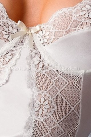 Кремовый корсаж Blanchet corset 3XL, фото 2