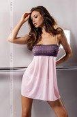 Светло розовая сорочка - Секс-шоп Мир Оргазма