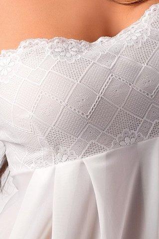 Комбинация и стринги кремовые nicolette chemise