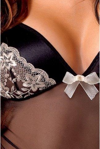 Сорочка из тюля и сатина с вышивкой astra, фото 2