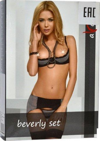 Комплект на косточках с открытой грудью Beverly Set ( ), фото 2