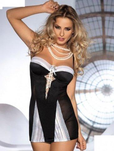 Платье Amarone, черно-белое