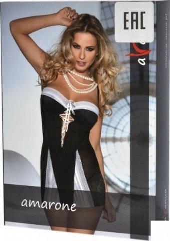 Платье Amarone, черно-белое, фото 3