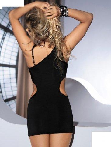 Платье с вырезами по бокам Skarlet, черное, фото 2
