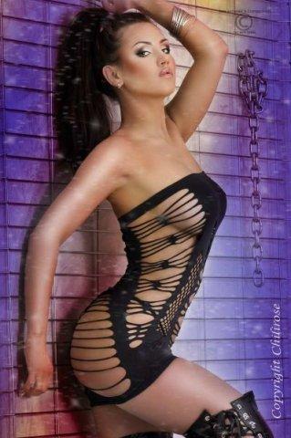 Откровенное платье с открытыми плечами Chilirose, фото 2