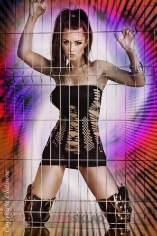 Откровенное платье с открытыми плечами Chilirose, фото 3