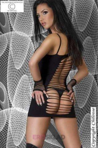 Платье для коктейлей Chilirose, цвет Черный, фото 5