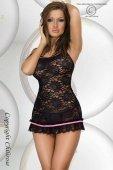 Нежное кружевное платье цвет Черный, размер | Мини платья | Секс-шоп Мир Оргазма
