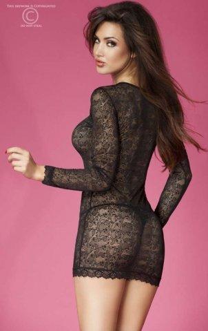Соблазнительное платье из кружева