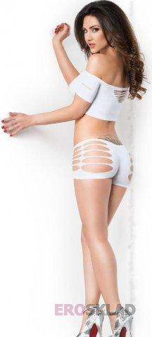 Эротический комплект с вырезами Chilirose, цвет Белый, фото 2
