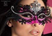 Очаровательная маска с камнями | Маски на глаза | Секс-шоп Мир Оргазма