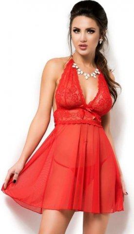 Сексуальная сорочка + стринги Chilirose, цвет Красный