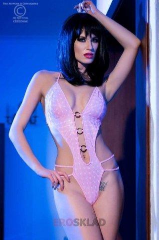 Сексуальный тедди цвет Розовый, фото 4