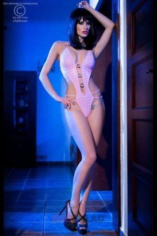 Сексуальный тедди цвет Розовый, фото 6