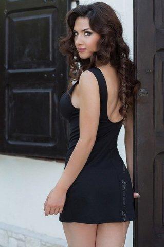черный dina платье, фото 2
