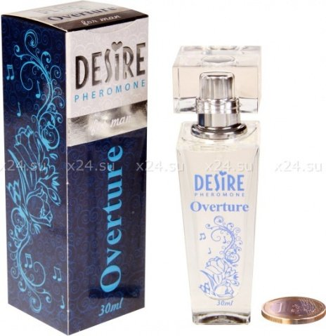 Духи-спрей, desire overture, de luxу platinum, 30 мл, мужские