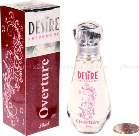 Духи-спрей, desire overture, de luxу platinum, 30 мл, женские