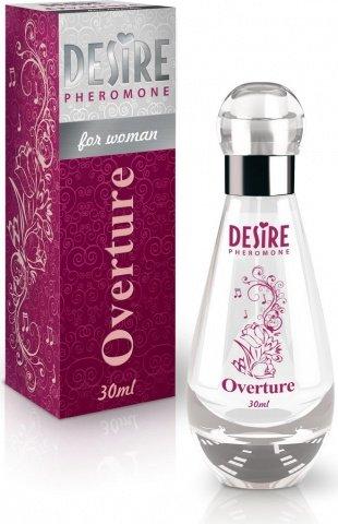Духи-спрей, desire overture, de luxу platinum, 30 мл, женские, фото 2