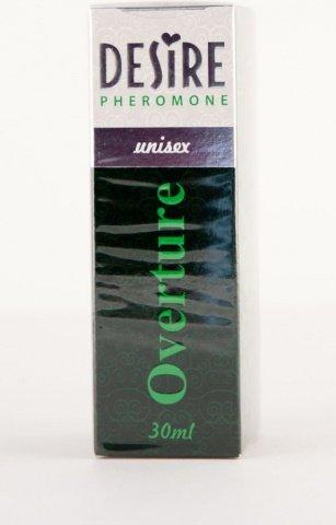 Духи-спрей, desire overture, de luxу platinum, 30 мл, унисекс