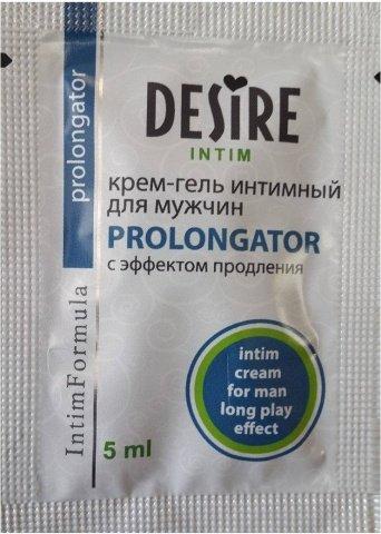 Крем-гель для мужчин Пролонгатор Desire 5 ml RPS-0074, фото 2