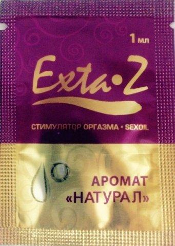 Возбуждающие масло для стимуляции оргазма Exta-Z натурал, 1 мл RPS-065