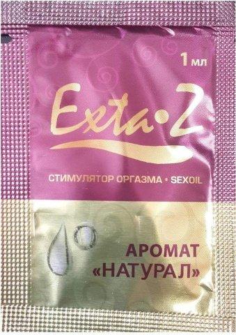 Возбуждающие масло для стимуляции оргазма Exta-Z натурал, 1 мл RPS-065, фото 2