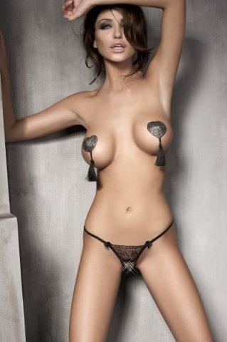 Стринги Evita, черный L, фото 2