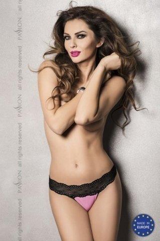 Розовые ажурные трусики kalypso panties pink