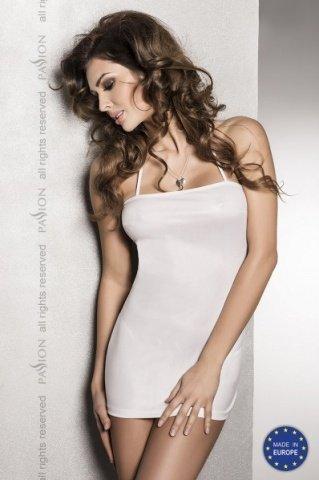 Сексуальное белое платье с открытой спиной beltis white l/xl