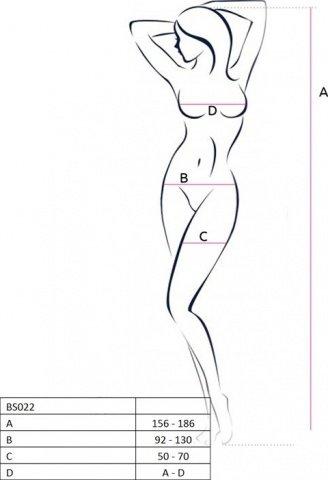 Боди-комбинезон с геометрическим узором, белый, размер универсальный, фото 2
