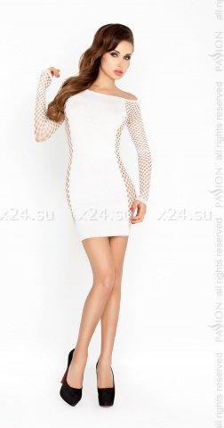 Белое платье Кокетка