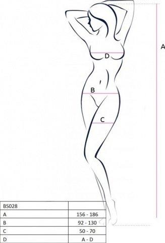 Боди-комбинезон с открытой спиной, черный, размер универсальный, фото 2
